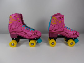 **SLIGHTLY USED** #uGOgrl Demo Quad Roller Skate Size 6