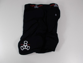 **CLOSEOUT** Triple 8 Roller Derby Bumsaver Shorts Black Size JR