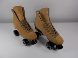 **SLIGHTLY USED** 1300 Super-X Sonic Outdoor Roller Skate Tan Size 9