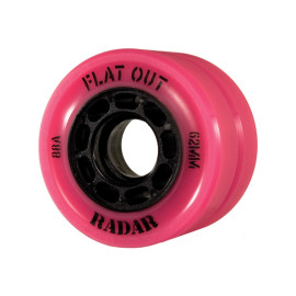 **CLOSEOUT** Radar Flat Out Derby Speed Skate Wheels