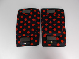 **CLOSEOUT** One-Tri Red Polka Dot Knee Gasket - Small