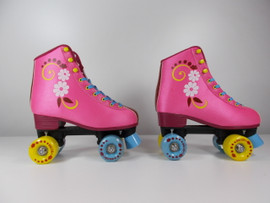 **SLIGHTLY USED** #uGOgrl Quad Roller Skate Pink Size 6