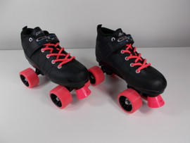 **SLIGHTLY USED** GTX-500 Old-Style Pink Quad Roller Skate Size 5