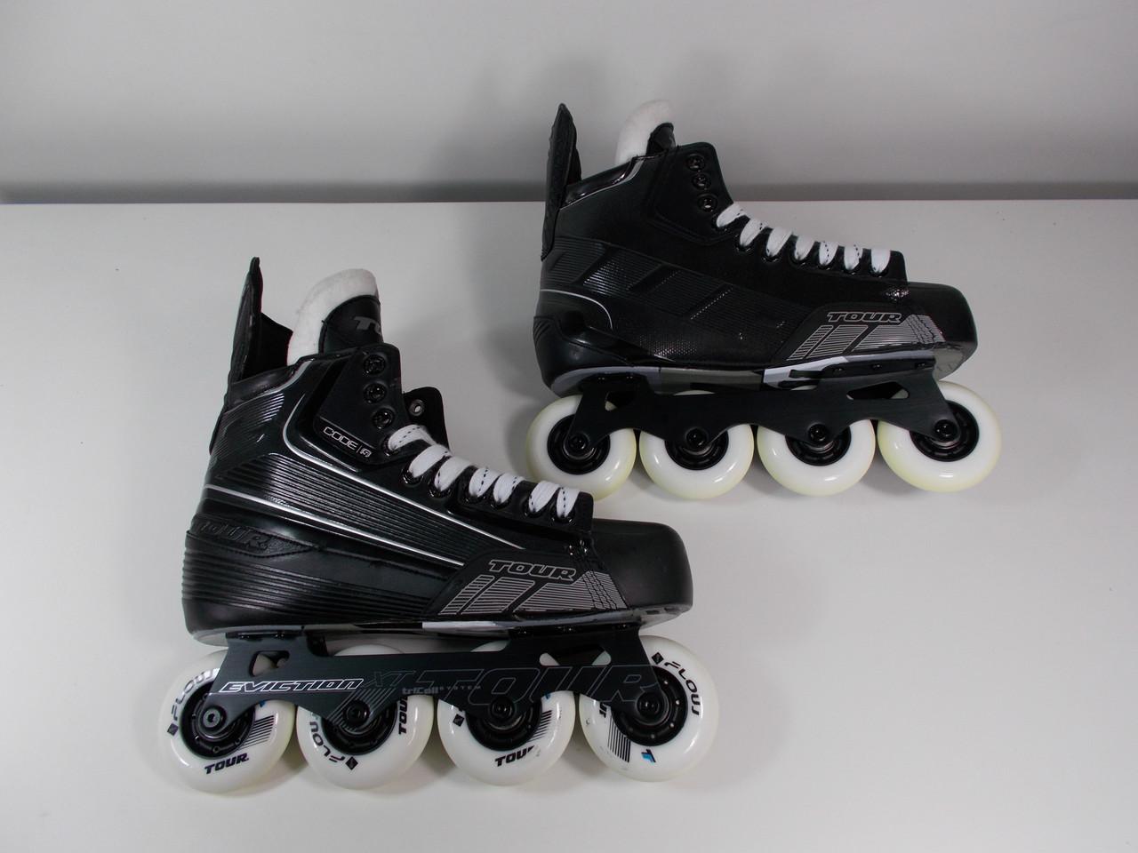 Used Hockey Skates >> Slightly Used Tour Code 5 Hockey Skate Size 9