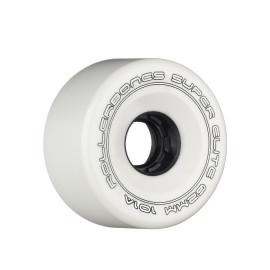 **CLOSEOUT** Powell Roller Bones Super Elite Wheels - WHITE, 57mm, 103A
