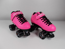 **SLIGHTLY USED** RollerDerby Elite Pink Stomp Factor 5 Size 5