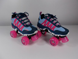 ***SLIGHTLY USED** Pink Sonic Cruiser Fun Outdoor Skate Size 5