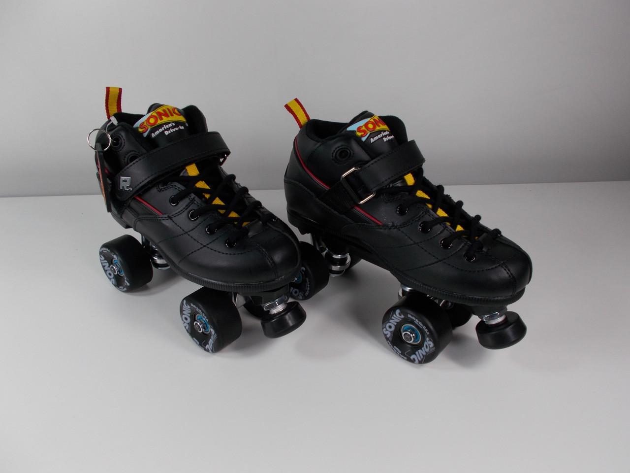 Roller Skates On Sales Rollerskatenation Com >> Slightly Used The Sonic Outdoor Roller Skate Size 7 With Black Sonic Wheels