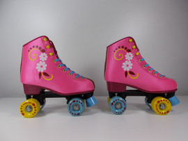 ***SLIGHTLY USED** #uGOgrl Quad Roller Skate Pink Size 6