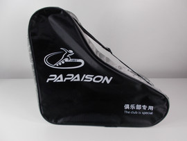 **CLOSEOUT** PaPaison Black and Silver Skate Bag