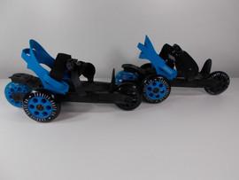 **CLOSEOUT** Cardiff Cruiser Blue Adjustable Skate