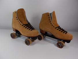 **CLOSEOUT** Dominion Suede Indoor Roller Skates Size 13
