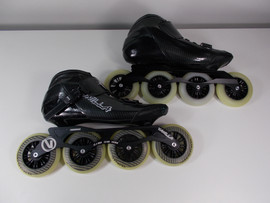 **SLIGHTLY USED** Vanilla Carbon Speed Inline Skate Black Size 12
