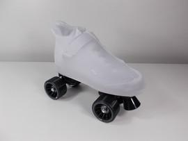 **CLOSEOUT** Unicorn White Skate Boot Covers