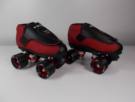 **SLIGHTLY USED** Vanilla Code Red Roller Skates Size 4