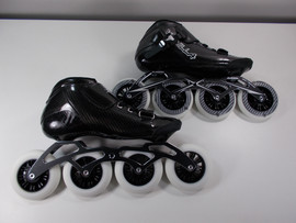 ***SLIGHTLY USED** VNLA Carbon Speed Inline Skates Size 9