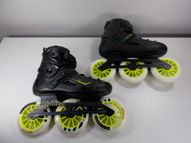 **SLIGHTLY USED** RollerDerby Elite Alpha 125mm 3-wheel Inline Skate Size 11