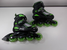 **SLIGHTLY USED** Lenexa Viper Adjustable Inline Skates Sizes Youth 1-4