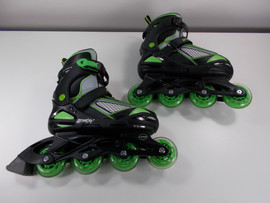 **SLIGHTLY USED** Lenexa Viper Adjustable Inline Skates Youth Sizes 5-8