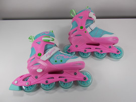 **SLIGHTLY USED** Sherbet  Adjustable Inline Skates - Large (Youth Sizes 5-8)