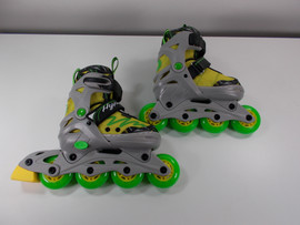 **SLIGHTLY USED** Lemon Twist Adjustable Inline Skate - Size Small  (J11 - Youth 1)