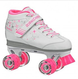 ***CLOSEOUT*** Roller Derby Lite Up Sparkle Kids Roller Skates