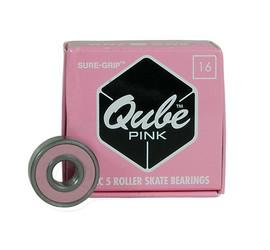 Sure Grip QUBE Pink Bearings (16 pack)