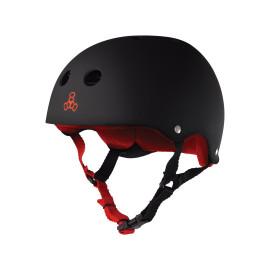 Triple 8 Sweatsaver Helmet - Rubber Black