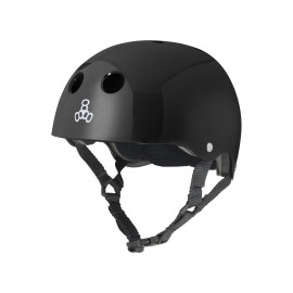 Triple 8 Standard Helmet - Gloss Black