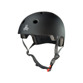 Triple 8 Brainsaver Dual Certified Helmet - Black