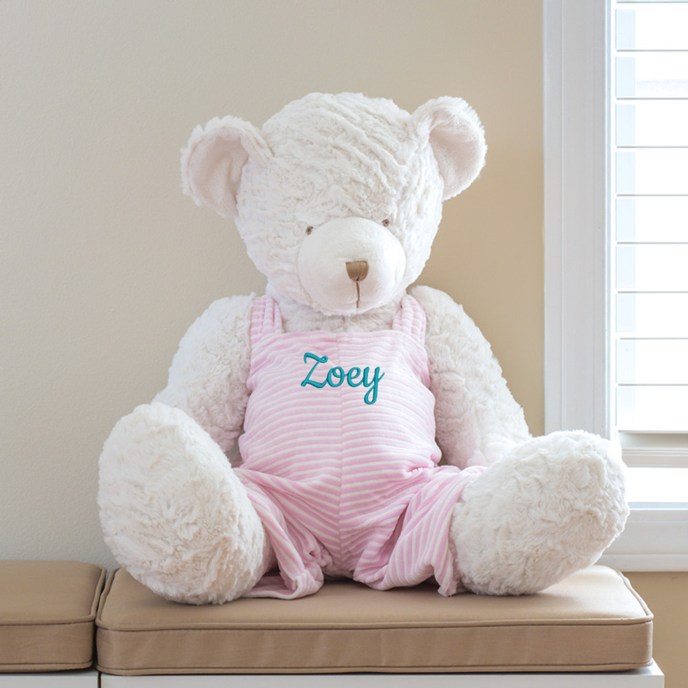 Embroidered Large Teddy Bear