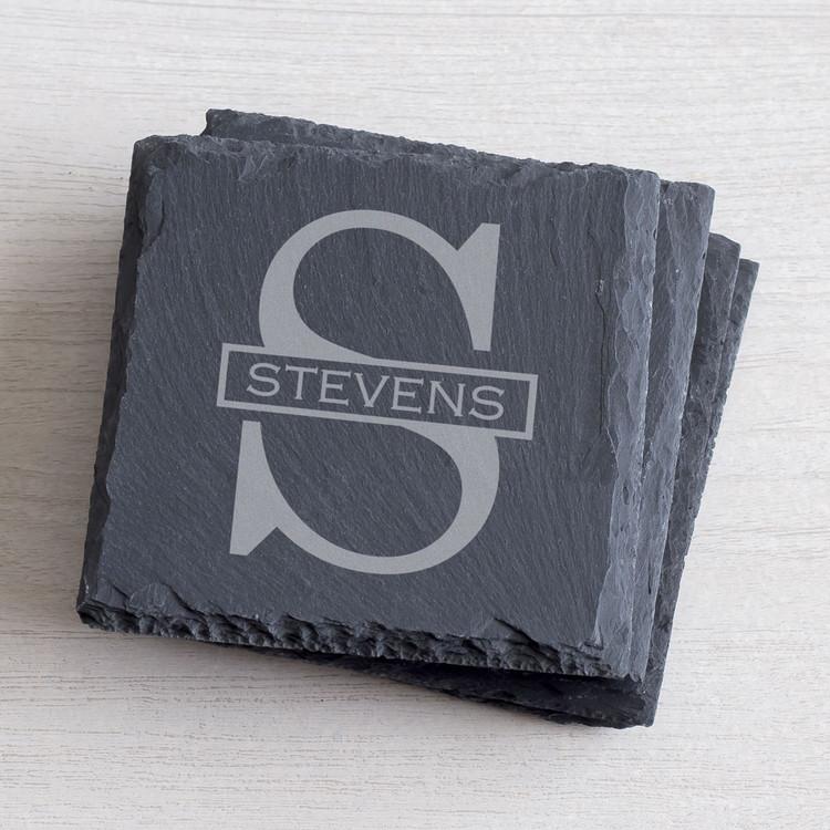 Custom slate coasters