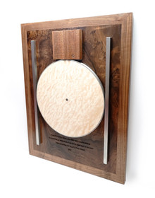 Point Within A Circle Wall Plaque
