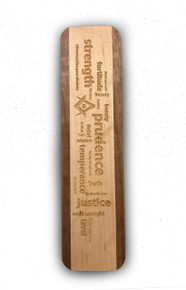 Masonic Word Cloud Bookmark