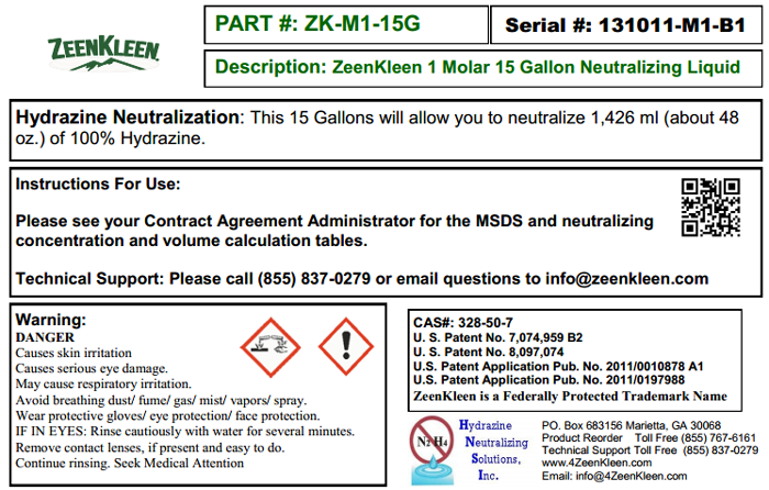 Product Label: ZK-1M-15G