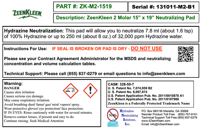 Product Label: ZK-2M-1519