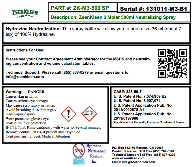 Product Label: ZK-3M-500 SP