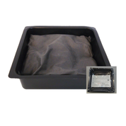 "ZeenKleen 1 Molar 9""x9"" Pillow in Pan: ZK-1M-0909"