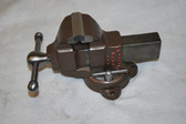 Athol #79 Bench Vise with custom built swivel base and new replaceable jaws