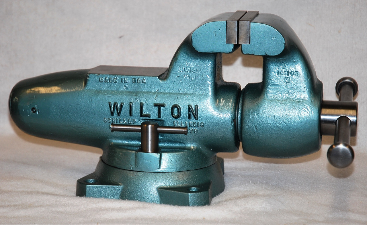 Miraculous Wilton 500S Bench Vise With 5 X 1 1 4 Jaws Short Links Chair Design For Home Short Linksinfo