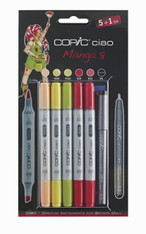 COPIC CIAO 5 + 1 - MANGA 8 SET