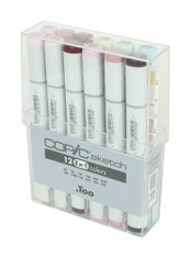 Copic Sketch 12 Pen Set - Ex-Set 1
