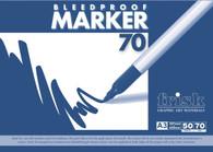 Frisk Bleedproof Marker Pad - A3 (50 Sheets)