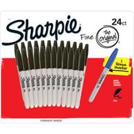 Sharpie Fine Permanent Marker 24ct + 1 Bonus Marker Set