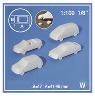Schulcz - 4 Cars, M = 1:100 (03-40101)