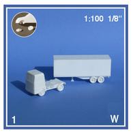 Schulcz - 1 Trailer Truck, M = 1:100 (03-40471)