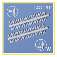 Schulcz - 80 Silhouette Figures, M = 1:200 (02-3001)