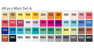 Stylefile Marker (Set of 48) -  Set A