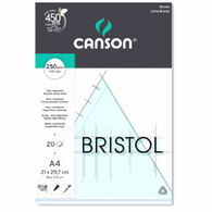 Canson Bristol Pads - Extra Heavyweight 250 gsm 20 Sheets