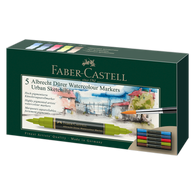 Faber Castell Albrecht Durer Watercolour Markers Wallet of 5 Urban Sketch